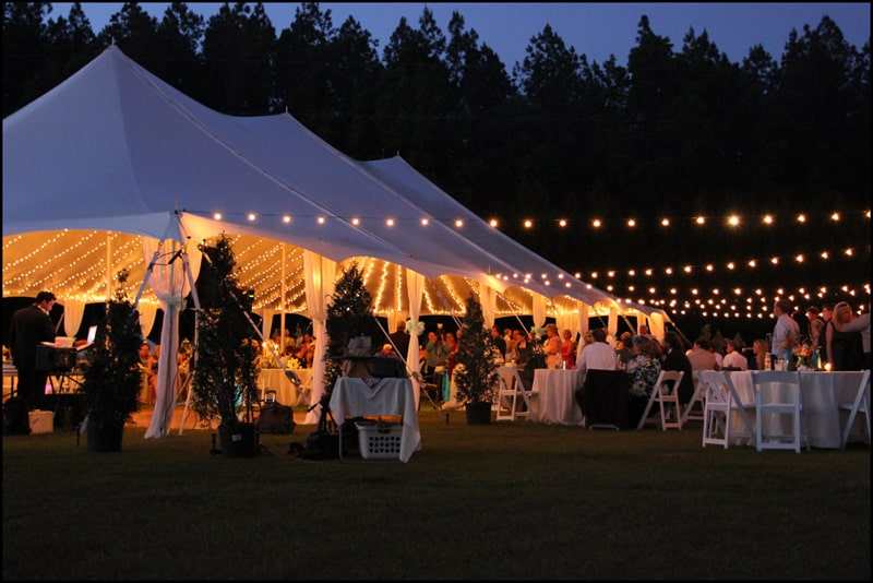 Event Party Rental Company Raleigh Wedding Tent Rental J J Tent