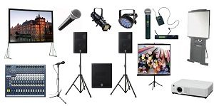 audio and video equipment