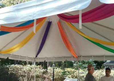 Tent-with-streamers