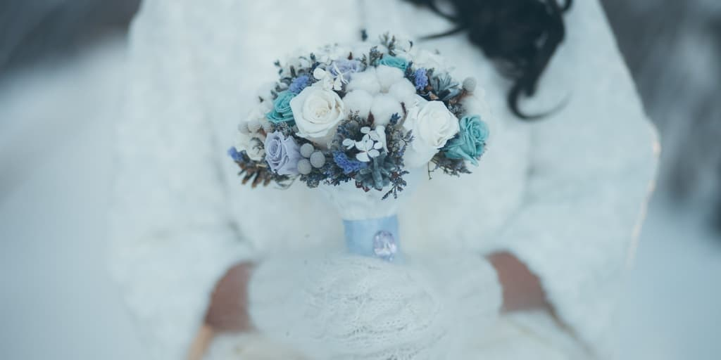 Best Colors for Your Raleigh Winter Wedding