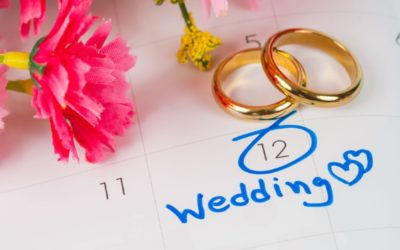 How long it takes to reschedule wedding vendors