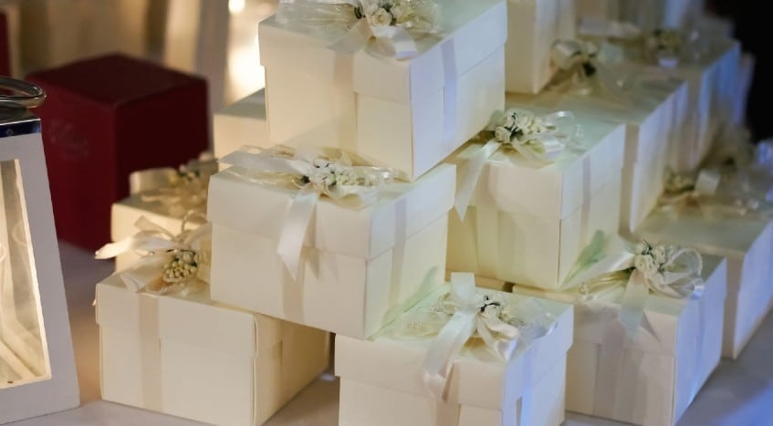 Zoom Wedding Party Favor Ideas